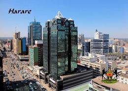 Zimbabwe Harare Overview New Postcard Simbabwe AK - Zimbabwe