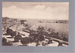 MALTA Le Grand Port OLD POSTCARD - Malta