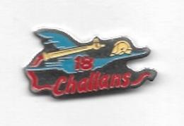 Pin's  Ville, SAPEURS  POMPIERS  De  CHALLANS   ( 85 ) - Firemen