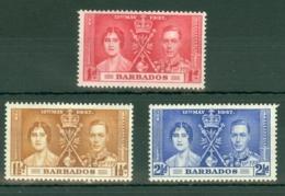 Barbados: 1937   Coronation     MNH - Barbados (...-1966)