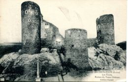 N°74386 -cpa Rochetaillée -les Tours -ruines Du Vieux Château- - Rochetaillee
