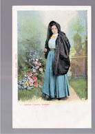 MALTA Maltese Country Woman OLD POSTCARD - Malta