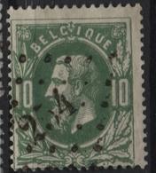 N°30 Obl. LP 254 MONTZEN. Coba 8€. TB - 1869-1883 Léopold II