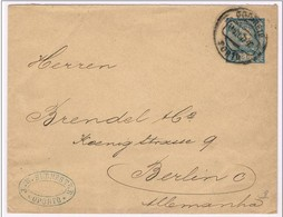 Portugal, 1897, Porto-Berlin - Lettres & Documents