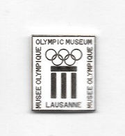 Pin's  Ville, Pays  SUISSE, Sport  J.O, MUSEE  OLYMPIQUE  De  LAUSANNE - Olympic Games
