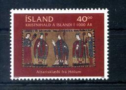2000 ISLANDA SET MNH ** - 1944-... Repubblica