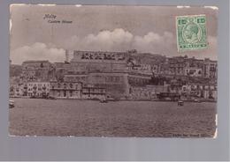 MALTA  Custom House OLD PHOTO, POSTCARD - Malta