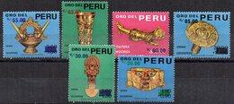 Serie  Nº 472/6 +495  Peru - Perú