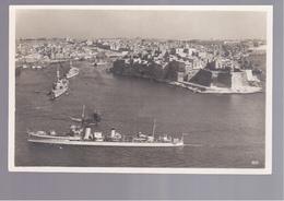 MALTA  Harbour, Hafen Ships OLD PHOTO, POSTCARD - Malta