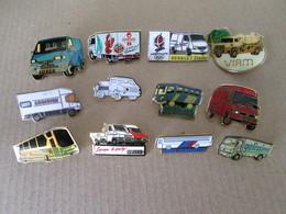 PIN'S   LOT  12 CAMIONS - Transportation