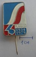PLANICA 1979 SKI JUMPING SLOVENIJA SKI / SKIING SKI JUMPING PIN BADGE Z3 - Winter Sports