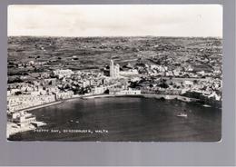 MALTA  Pretty Bay, Birzebbugia OLD PHOTO, POSTCARD - Malta