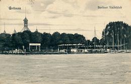 BERLIN-GRÜNAU - 1956 , Berliner Yachtklub - Non Classificati