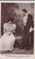 """AO85 Theatre - Miss Nora Lancaster And Mr Lewis Waller In """"A White Man"""" - RPPC - Theatre"""