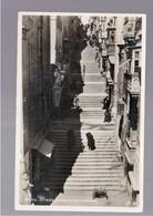 MALTA  Strada Santa Lucia - Valletta OLD PHOTO, POSTCARD - Malta