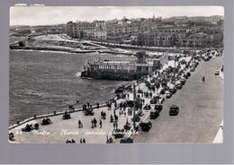 MALTA  Sliema Seaside Promenade OLD PHOTO, POSTCARD - Malta