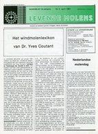 Thema: Molen, Maalderij Vlaanderen - Nummer Van LEVENDE MOLENS April 1991. Retie, Dessel (Boeretang), Pulderbos, E.a. - Tijdschriften