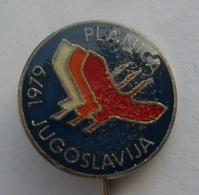 PLANICA 1979l SKI JUMPING SLOVENIJA SKI / SKIING SKI JUMPING PIN BADGE Z3 - Winter Sports