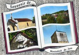 MONTADROIT   DU JURA     Souvenir    Edit   Lapie   No 115 - France