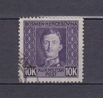 Bosnien Und Herzegowina - 1917 - Michel Nr. 141 A - Ungebraucht