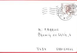BRUGGE 21 -  Oblitération à étoiles  - Le 23 IX 1973  - Pas Courant - Postmark Collection