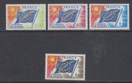 France Conseil De L'Europe 1975 + 1976 4v ** Mnh (43561) - Europese Gedachte