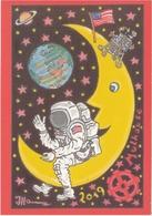 Les 50 Ans De L'homme Sur La Lune - Astronomia