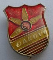 BOWLING - KK DJAKOVO, Croatia  PIN BADGE Z3 - Bowling