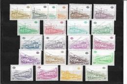 Locomotieven, OCB Nrs TR 378/98 En 424, Postgaaf - Chemins De Fer
