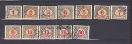 Bosnien Und Herzegowina - Portomarken - 1904 - Michel Nr. 1/13 B - 20 Euro - Ungebraucht