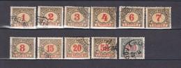 Bosnien Und Herzegowina - Portomarken - 1904 - Michel Nr. 1/4 + 6/8 + 10/12 C - 20 Euro - Ungebraucht
