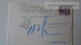 ZA220.14  Italy -Cover Roma - PORTÓ -Postage Due -Elissa Bonivento Rossi -   To Dr.Csekey István Prof. Budapest - Segnatasse