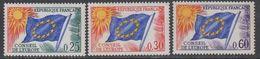 France Conseil De L'Europe 1965 3v ** Mnh (43563) - Europese Gedachte