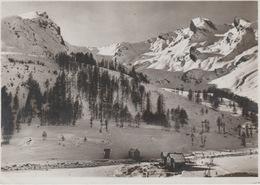 19 / 7 / 16. -  LA. FOUX D'ALLOS   ( 04 ). Monte Pente  Du. Plateau De L'aiguille  - C P M. - Otros Municipios