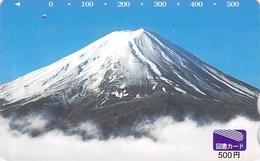 PAYSAGE - MONTAGNE - MASSIF -MATURE - LANDSCAPE - MOUNTAIN - Carte Prépayée Japon - Landscapes