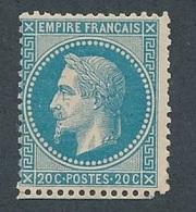 CZ-89: FRANCE:lot*  Avec N°29B* - 1863-1870 Napoleon III With Laurels