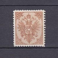 Bosnien Und Herzegowina - 1895/99 - Michel Nr. 6 II - Ungebraucht