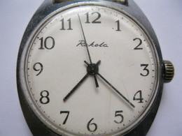 Vintage USSR Raketa Cal.2609 HA 17 Jewels Russian Men`s Mechanical Watch In Working Condition  - D 4339 - Orologi Antichi