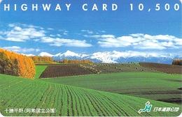 PAYSAGE - CAMPAGNE - PRAIRIE - LANDSCAPE - CAMPAIGN - MEADDOW - Carte Prépayée Japon - Landschappen