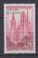 France 1958 Conseil De L'Europe 1v ** Mnh (43566) - Europese Gedachte