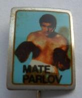 Boxing - Mate Parlov CROATIA  PIN BADGE Z3 - Boxing