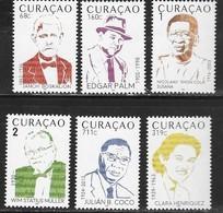 CURACAO , 2019, MNH, MUSIC, MUSICIANS, 6v - Music