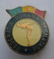 FEDERATIA ROMANA DE NATATIE  Romania Swimming Federation   PIN BADGE Z3 - Swimming