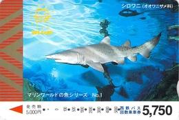 PAYSAGE - MER - OCEAN - LANDSCAPE - SEA - Carte Prépayée Japon - Landschappen