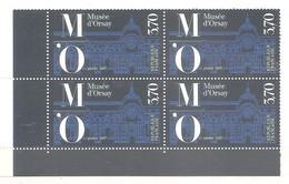 FRANCE 1986 . Y&T N°2451 - MUSEE D' ORSAY - Bloc De 4 TP Neufs - Bas De Feuille. TB - Frankreich