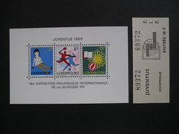 LUXEMBOURG Youth And Leisure With Ticket 1969 MNH - Unused Stamps