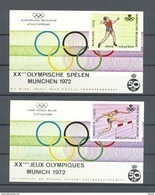E 119/120 ATLETIEK  BLOKKEN   POSTFRIS** 1971 - Commemorative Labels