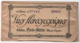 Pochette Originale De 12 Photos édition Paris Stereo Série N° 253 BISKRA Algérie - Stereoscopio