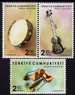 Turkey - 2019 - Musical Instruments - Mint Stamp Set - Nuevos