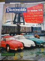 L' Automobile N: 142  De 1958 De 68 Pages -Tonden D.B. Rallye De Monté Carlo 2 CV Et Pub Divers - Auto